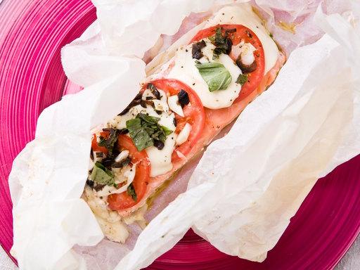 Le saumon est riche en vitamine !