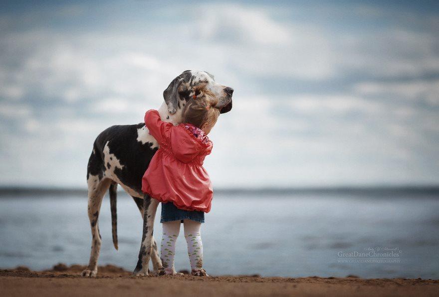Le chien, meilleur ami de l'enfant
