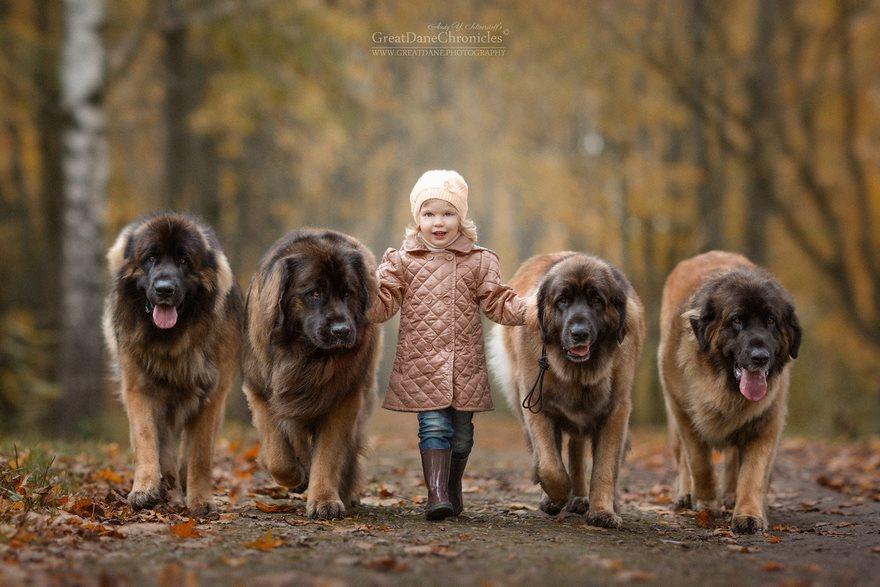 Les chiens responsabilisent les enfants